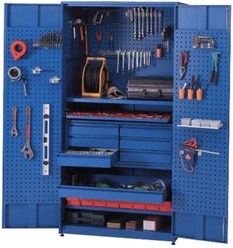 Tool cabinet with drawers